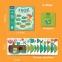 Напольные игровые наклейки Лягушка (MD2078) 0