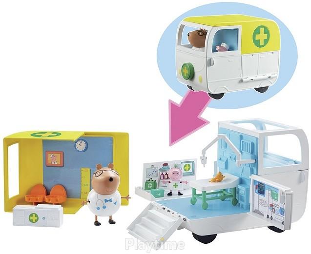 Игровой набор Peppa Медицинский Центр на колесах (06722)
