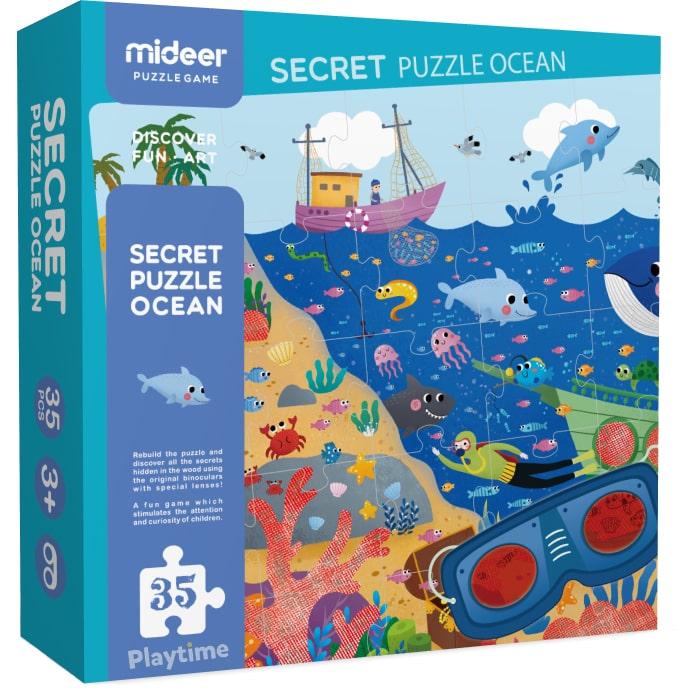 Пазл-секрет MiDeer «В океане» (MD3097)