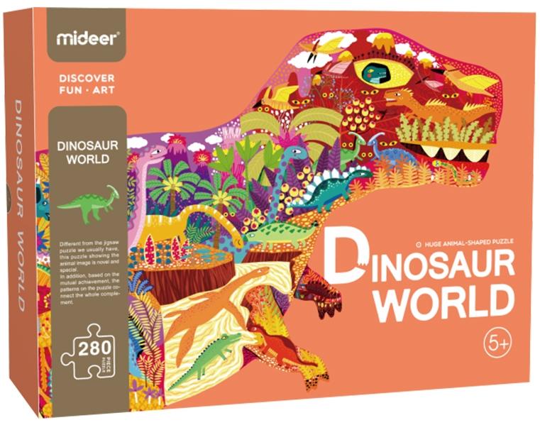 Фигурный пазл Динозавр (MD3083)