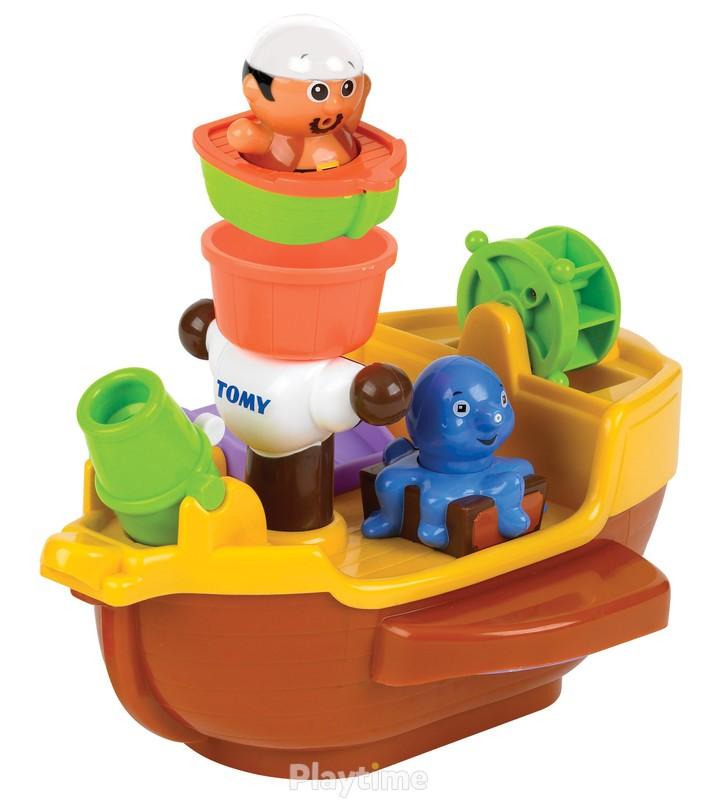 Игрушка для ванной Пиратский корабль Tomy (T71602)