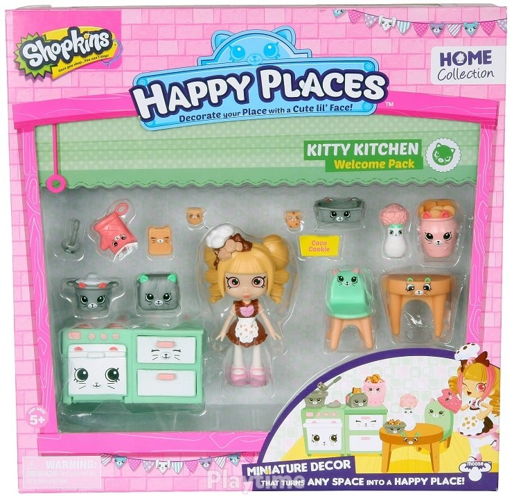 Игровой набор с куклой Happy Places S1 Кухня Коко Кукки (56326)