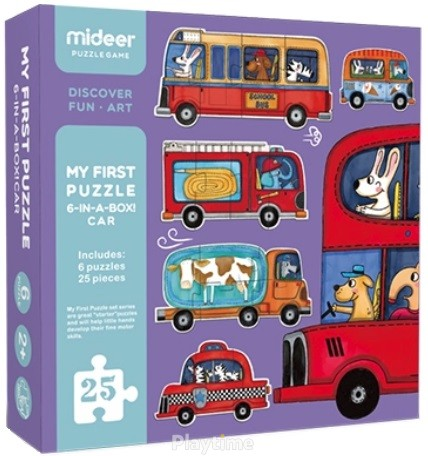 Мой первый пазл Транспорт MiDeer (MD0077)
