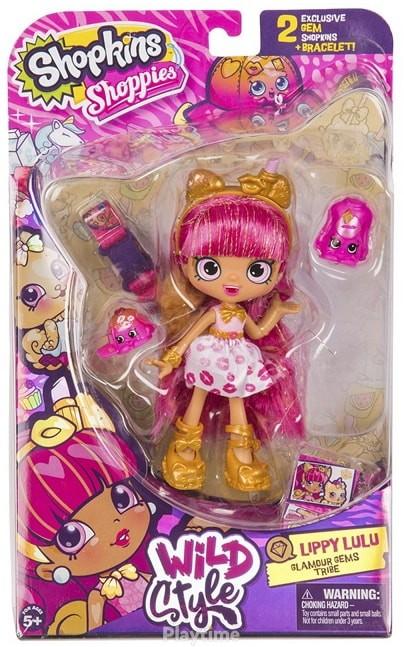 Кукла Shopkins Shoppies S9 серии Wild style ГЛАМУРНАЯ ЛИППИ (56712)