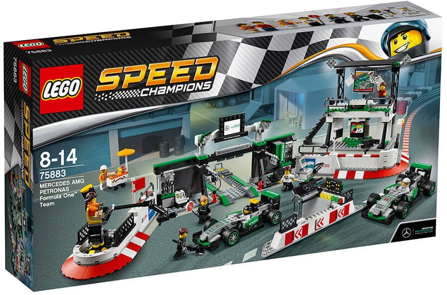 Конструктор LEGO Speed Champions Mercedes AMG Petronas Formula One Team (75883)