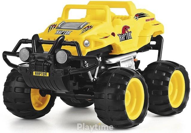 Автомобиль Crash Car на р/у Monster Smash-Ups Ти-рекс Желтый (TY5873A-1)