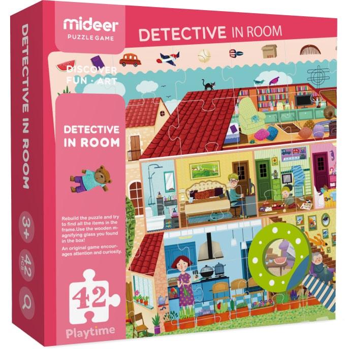 Пазл с лупой Дом MiDeer (MD3008)