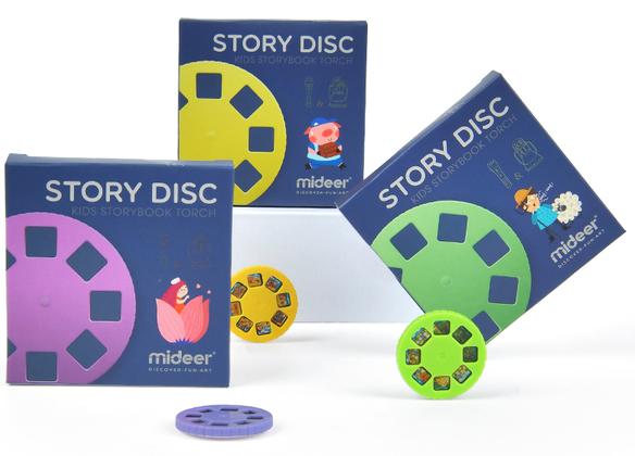 Наборы дисков для фонариков Mideer