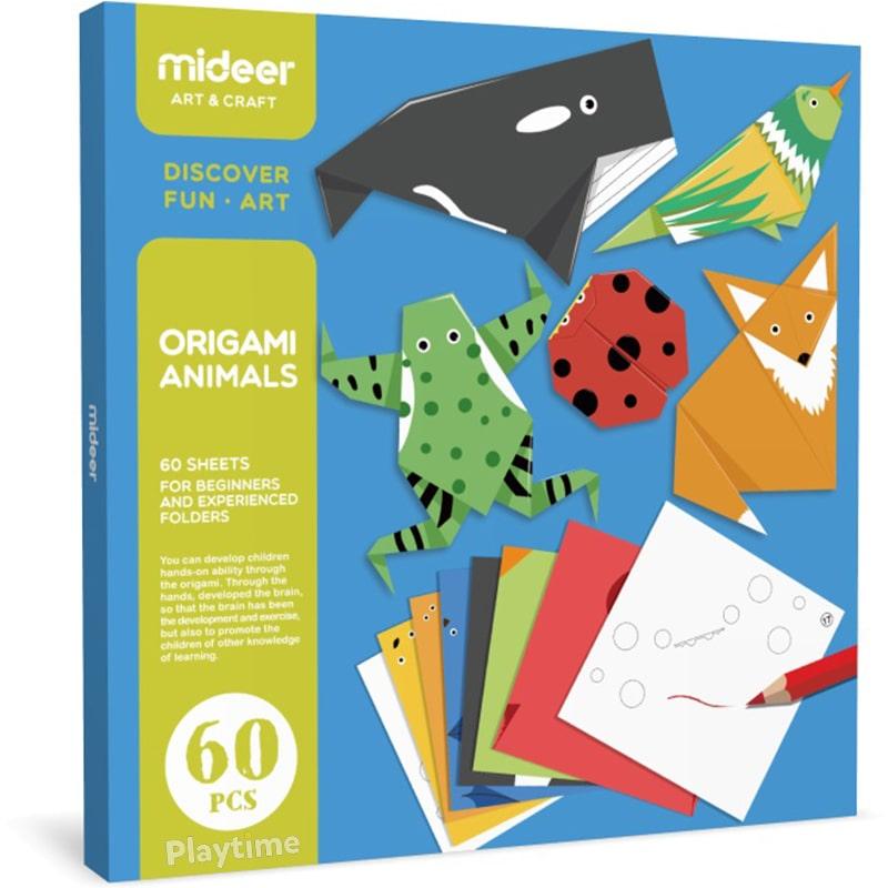 Набор для оригами Животные MiDeer (MD4015)