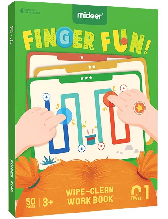 Развивающий набор Веселые пальчики (MD2111)