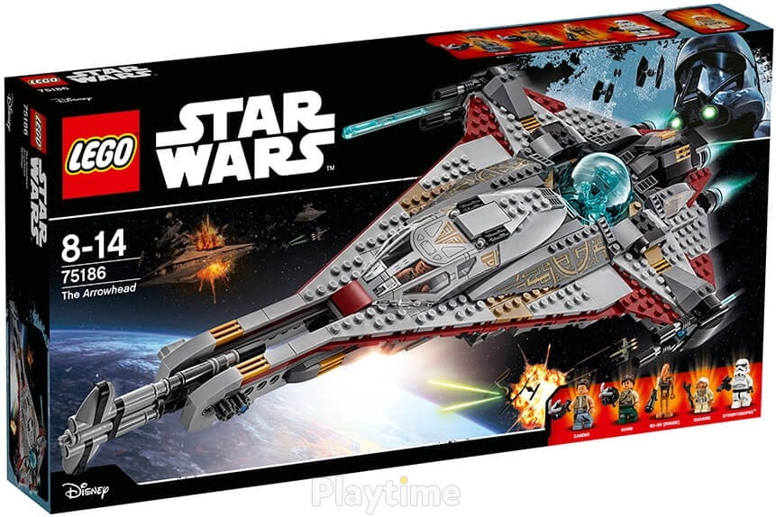 Конструктор LEGO Star Wars TM Стрела (75186)