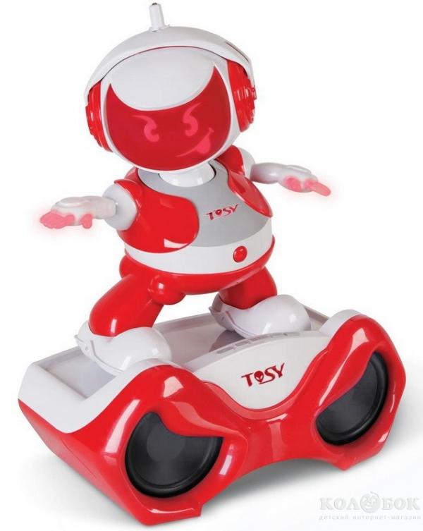 Интерактивный робот Discorobo Tosy Энди Диджей с площадкой для танцев