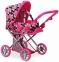Детская коляска 2 в 1 с люлькой Mary, цветочная Todsy (9346FL)