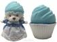 Капкейк Cupcake Bears Милые Медвежата — Ягодная панакота, с ароматом винограда (1610033-10)