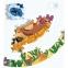 Круглый пазл В мире животных Mideer (MD3099) 4